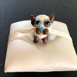 Jewelry - Animal bead silver core works w/Pandora